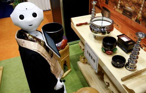 ประเทศญี่ปุ่นเปิดตัวหุ่นยนต์พระสงฆ์ Ai สวดมนต์ในวาระสุดท้ายของชีวิต