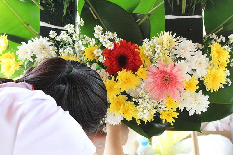 ช่างจัดดอกไม้